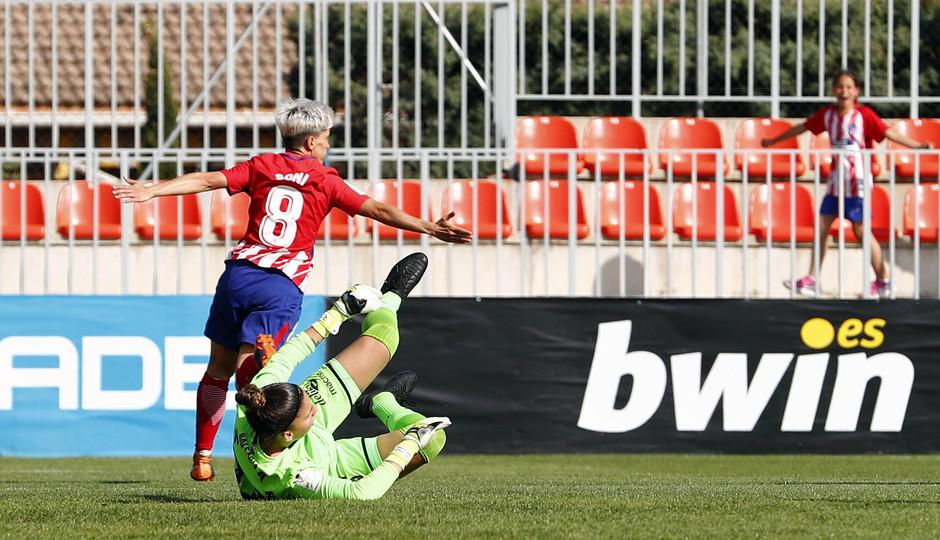 Temp 17/18 | Atlético de Madrid - Levante | Jornada 29 | Sonia