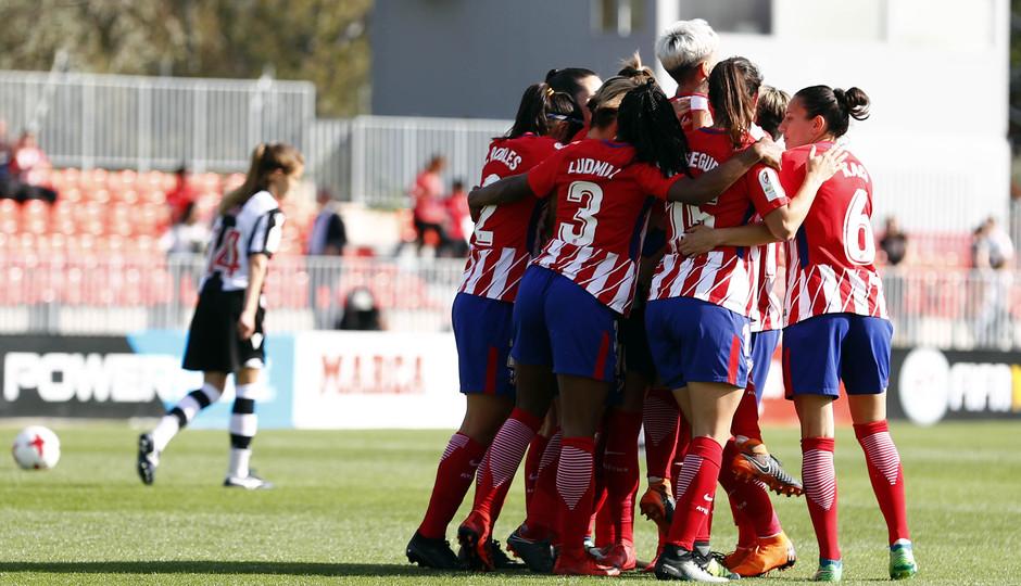 Temp 17/18 | Atlético de Madrid - Levante | Jornada 29 | Celebración