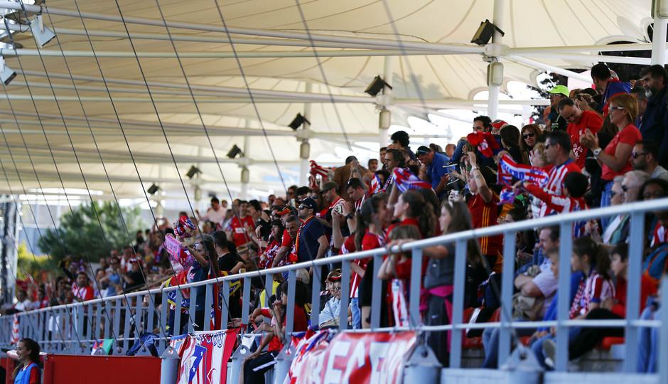 Temp 17/18 | Atlético de Madrid - Levante | Jornada 29 | Gradas