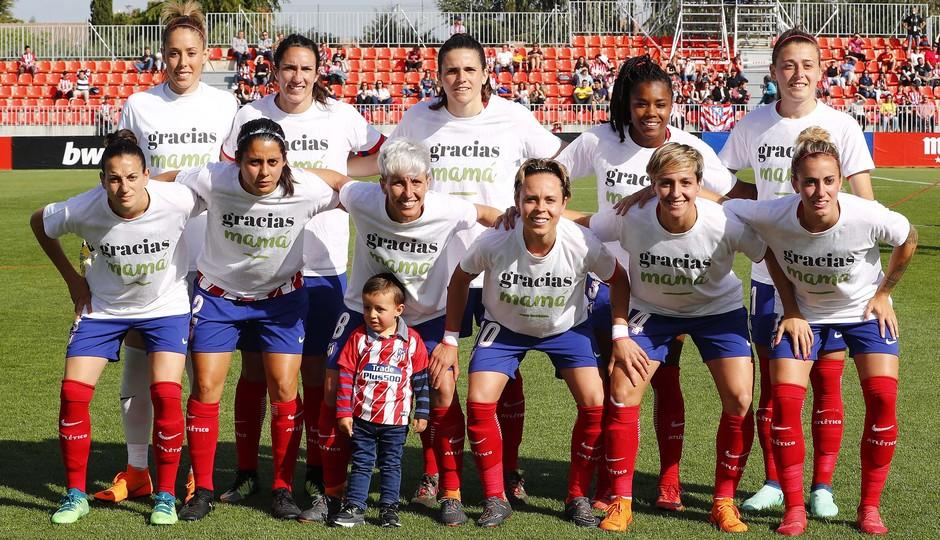 Temp 17/18   Atlético de Madrid - Levante   Jornada 29   Once