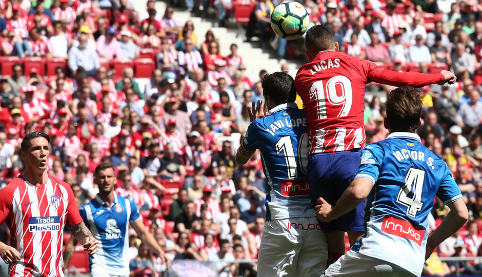 Temp. 17-18 | Atlético de Madrid - Espanyol | Jornada 36 | Lucas