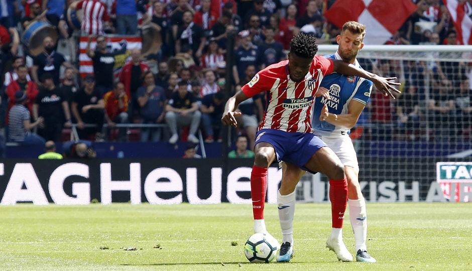 Temp. 17-18 | Atlético de Madrid - Espanyol | Jornada 36 | Thomas