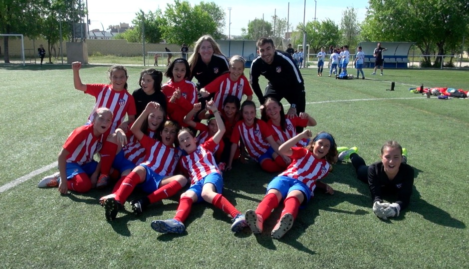 Temp. 17-18 | Femenino Alevín B campeón