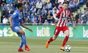 Temp 17/18 | Getafe - Atlético de Madrid | Jornada 37 | Saúl