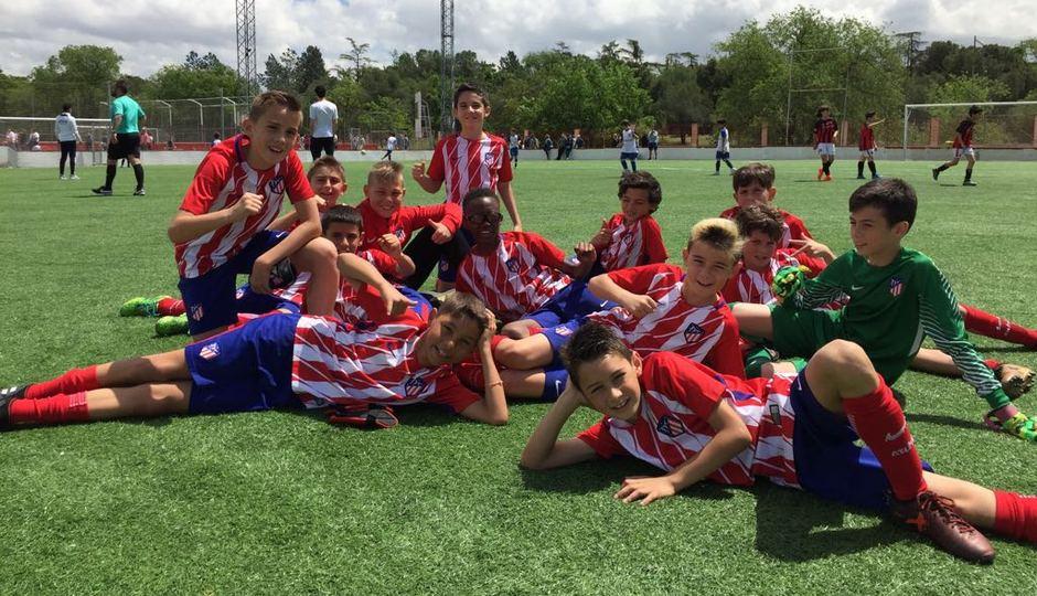 Temp. 17-18 | Benjamín A campeón | GALERÍA ACADEMIA 2018