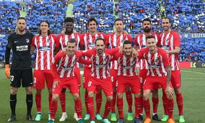 Temp 17/18 | Getafe - Atlético de Madrid | Jornada 37 | Once