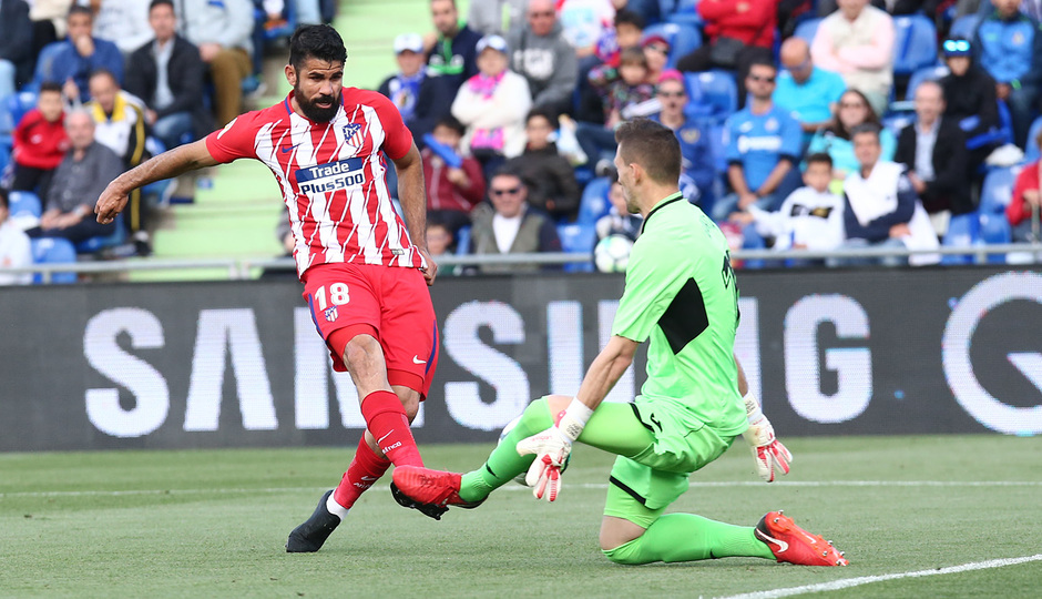 Temp 17/18 | Getafe - Atlético de Madrid | Jornada 37 | Diego Costa