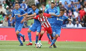 Temp 17/18 | Getafe - Atlético de Madrid | Jornada 37 | Correa