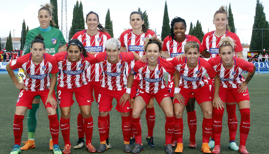 Temp 17/18 | Zaragoza CFF - Atlético de Madrid | Jornada 30 | Once