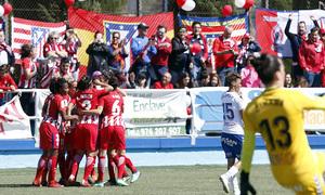 Temp 17/18 | Zaragoza CFF - Atlético de Madrid | Jornada 30 | Celebración 3