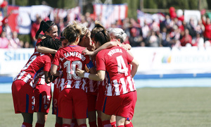 Temp 17/18 | Zaragoza CFF - Atlético de Madrid | Jornada 30 | Celebración 4