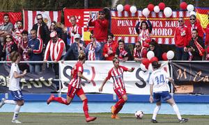 Temp 17/18 | Zaragoza CFF - Atlético de Madrid | Jornada 30 | Afición