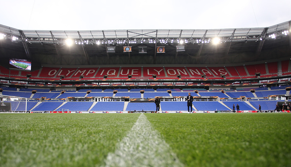 Temporada 17/18. Atlético de Madrid. Final de la Europa League en Lyon. Stade de Lyon