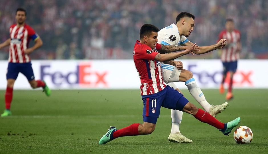 Temporada 17/18 | Final de Lyon de la Europa League | Olympique de Marsella - Atlético de Madrid | Correa
