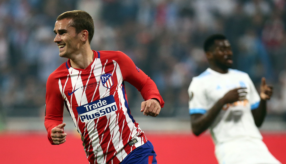 Temporada 17/18 | Final de Lyon de la Europa League | Olympique de Marsella - Atlético de Madrid | Griezmann