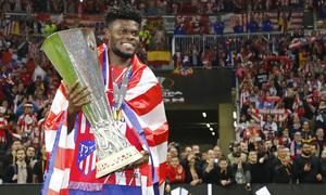 Temporada 17/18 | Final de Lyon de la Europa League | Olympique de Marsella - Atlético de Madrid | Thomas
