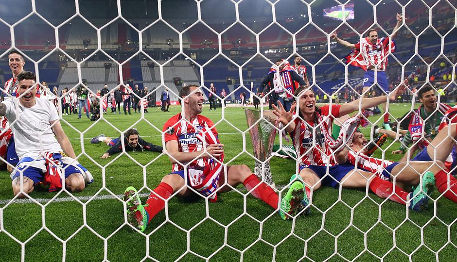Temporada 17/18 | Final de Lyon de la Europa League | Olympique de Marsella - Atlético de Madrid | Celebración en las redes