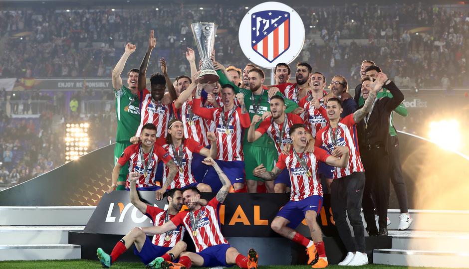 Temporada 17/18 | Final de Lyon de la Europa League en el Wanda Metropolitano | CELEBRACIÓN CAMPEONES