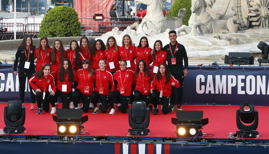 Temp 17/18 | Atlético de Madrid y Atlético de Madrid Femenino | 18-05-18 | Academia | Femenino Juvenil C