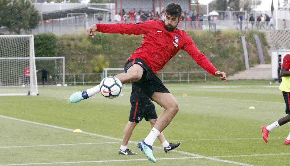 Temporada 17/18 | Entrenamiento del primer equipo | 19/05/2018 | Diego Costa