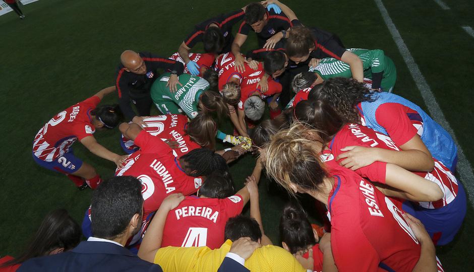 Temporada 17/18 | Atlético de Madrid Femenino - Valencia | Ida de la Copa de la Reina | Grupo