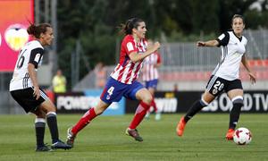 Temporada 17/18   Atlético de Madrid Femenino - Valencia   Ida de la Copa de la Reina   Andrea Pereira