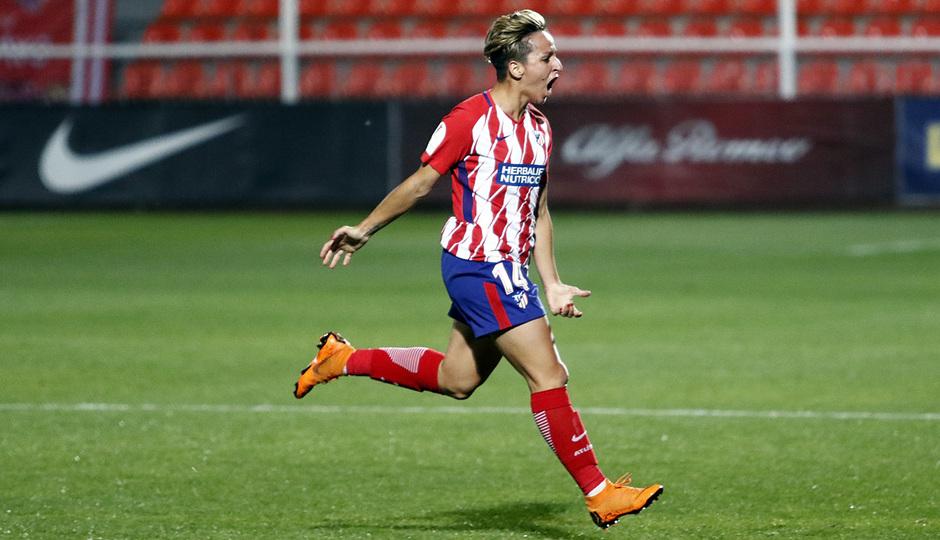 Temporada 17/18 | Atlético de Madrid Femenino - Valencia | Ida de la Copa de la Reina | Marta Corredera