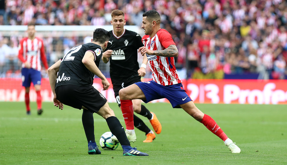 Temp. 17-18 | Atlético de Madrid-Eibar | Vitolo