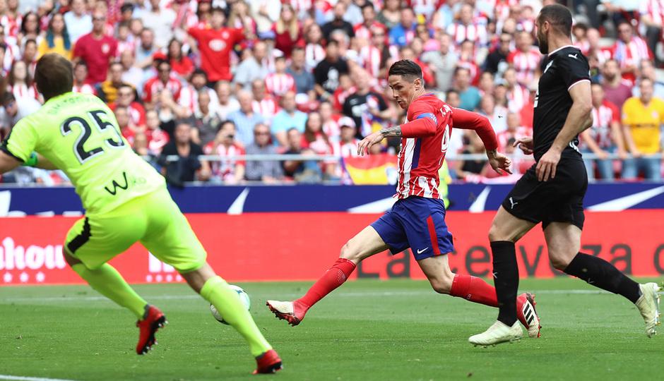 Temp. 17-18 | Atlético de Madrid-Eibar | Fernando Torres
