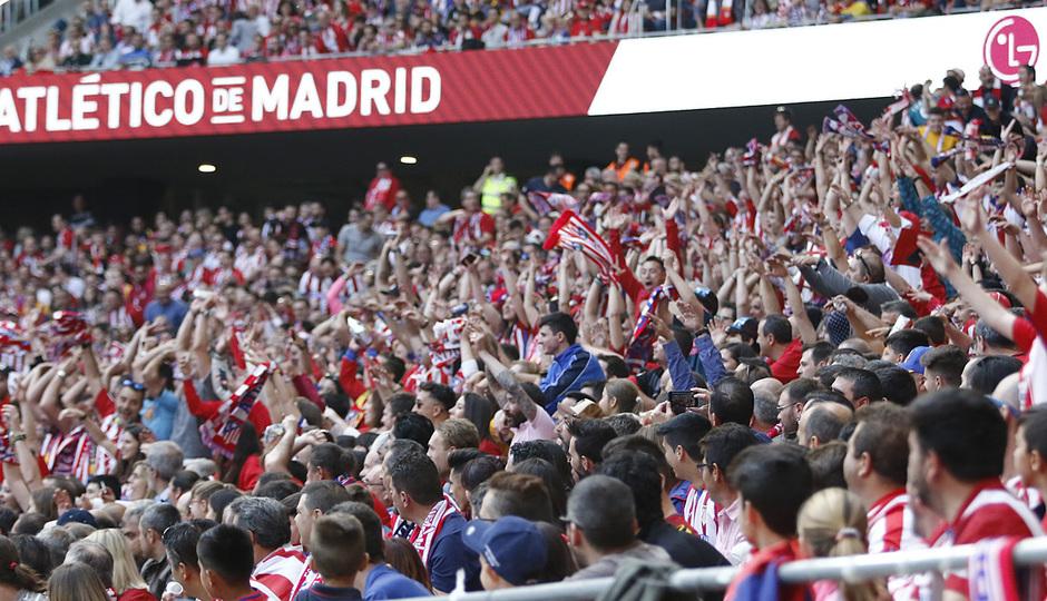 Temp. 17-18 | Atlético de Madrid-Eibar | Afición 1