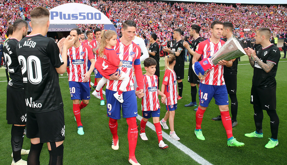Temp. 17-18 | Atlético de Madrid-Eibar | Pasillo