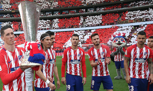 Temp. 17-18   Atlético de Madrid-Eibar   Torres y Europa League