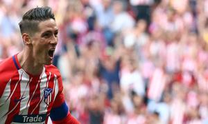 Temp. 17-18   Atlético de Madrid-Eibar   Fernando Torres