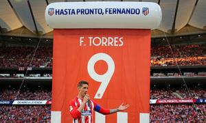 Temp. 17-18 | Atlético de Madrid-Eibar | Homenaje a Fernando Torres