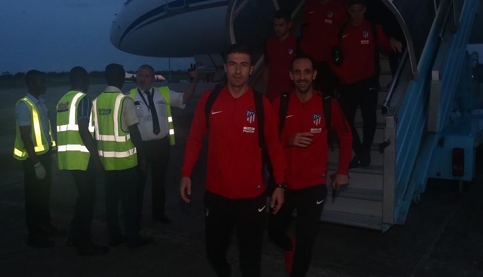 Temp. 17-18 | Atlético de Madrid en Nigeria | Gabi y Juanfran