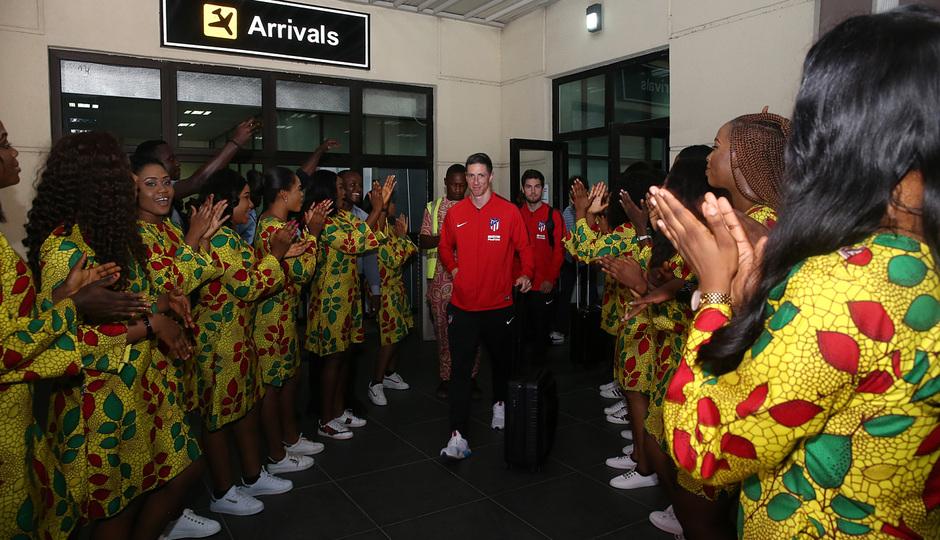 Temp. 17-18 | Atlético de Madrid en Nigeria | Fernando Torres