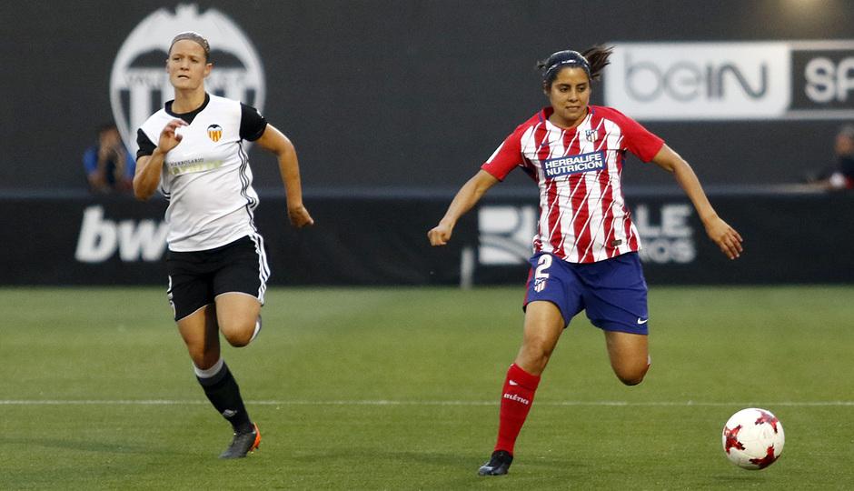 Temp 17/18   Valencia - Atlético de Madrid Femenino   Vuelta de cuartos de final de la Copa de la Reina   Kenti Robles