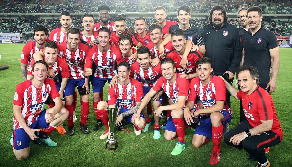 Temp 17/18 | Nigeria - Atlético de Madrid | Foto de equipo