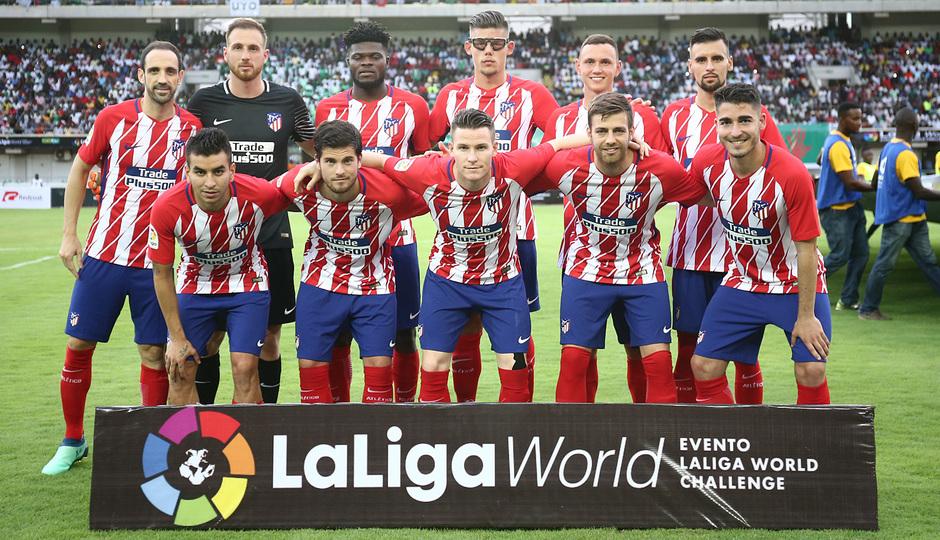 Temp 17/18 | Nigeria - Atlético de Madrid | Once