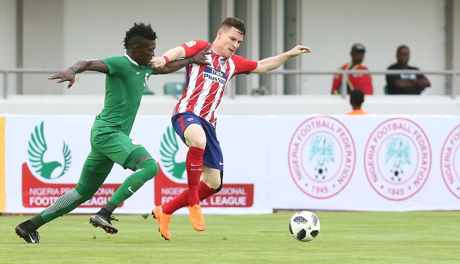 Temp 17/18 | Nigeria - Atlético de Madrid | Gameiro
