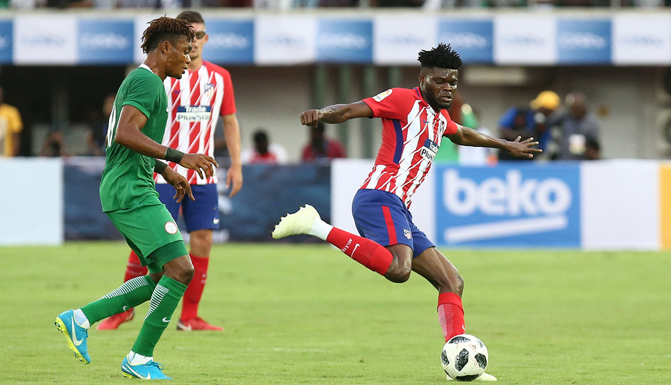 Temp 17/18 | Nigeria - Atlético de Madrid | Thomas