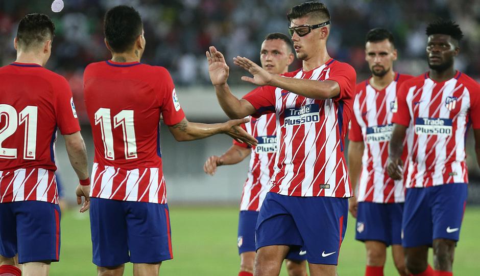 Temp 17/18 | Nigeria - Atlético de Madrid | Celebración primer gol