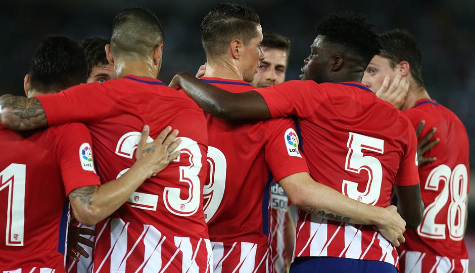 Temp 17/18 | Nigeria - Atlético de Madrid | Celebración segundo gol