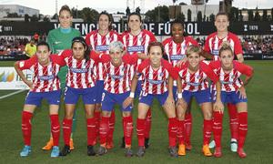 Temp 17/18 | Valencia - Atlético de Madrid Femenino | Vuelta de cuartos de final de la Copa de la Reina | Once