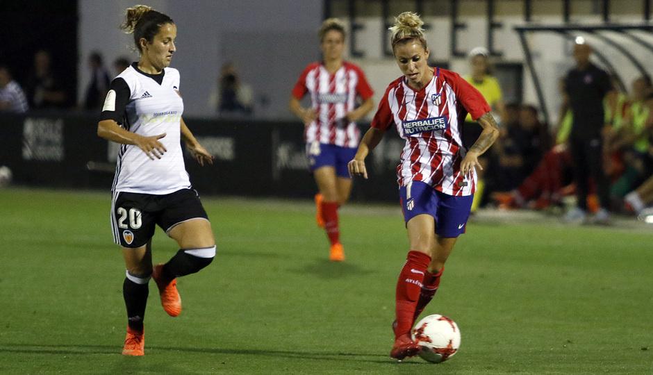 Temp 17/18   Valencia - Atlético de Madrid Femenino   Vuelta de cuartos de final de la Copa de la Reina   Ángela Sosa