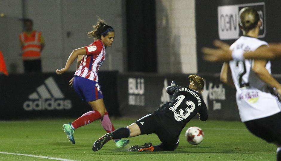 Temp 17/18 | Valencia - Atlético de Madrid Femenino | Vuelta de cuartos de final de la Copa de la Reina | Falcón