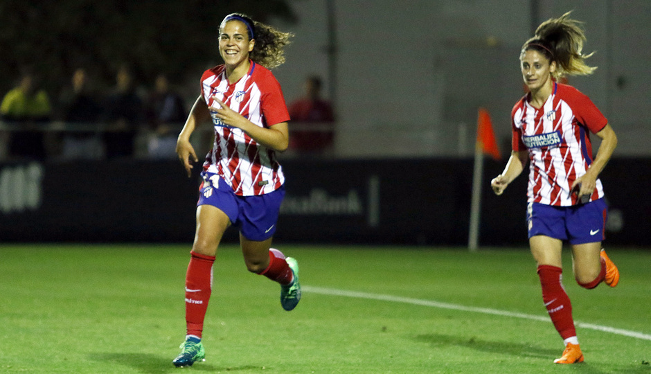 Temp 17/18   Valencia - Atlético de Madrid Femenino   Vuelta de cuartos de final de la Copa de la Reina   Falcón
