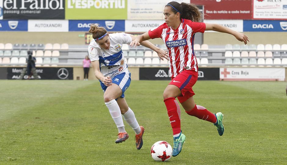 Temp. 17-18 | UD Granadilla Tenerife - Atlético de Madrid Femenino | Semifinal de la Copa de la Reina | Andrea Falcón