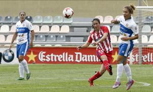 Temp. 17-18 | UD Granadilla Tenerife - Atlético de Madrid Femenino | Semifinal de la Copa de la Reina | Silvia Meseguer