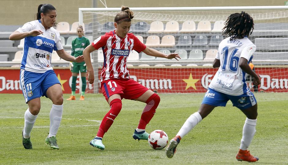 Temp. 17-18 | UD Granadilla Tenerife - Atlético de Madrid Femenino | Semifinal de la Copa de la Reina | Carmen Menayo
